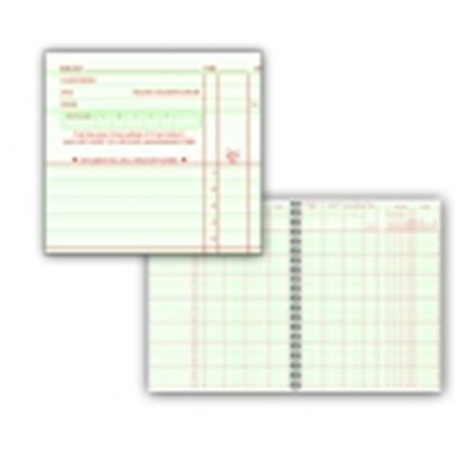 Hammond And Stephens H Large Square Format Wire-O Bound Class Record Book, 35 Students, Green & Red by Hammond & Stephens