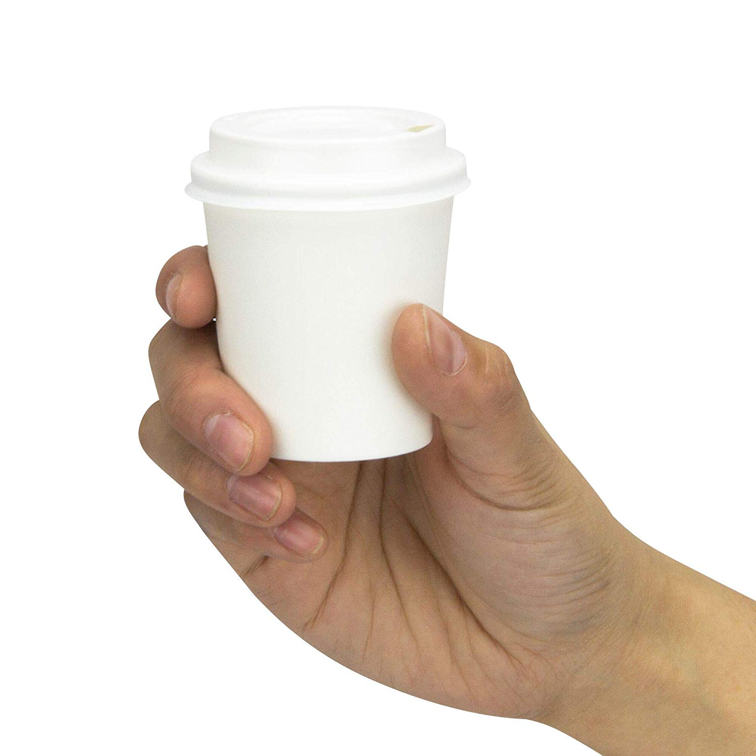 100 Disposable Paper Cups Hot Drinks 8oz 237ml Solo Mistique TEA COFFEE CHOC NEW