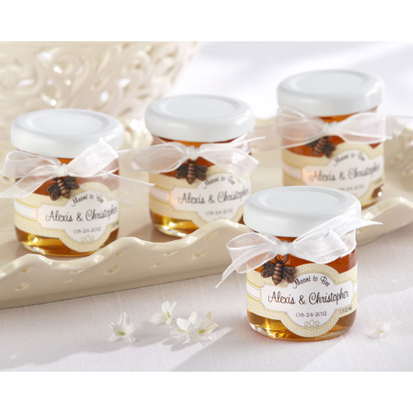 Kate Aspen Meant to Bee Personalized Clover Honey (Set of...