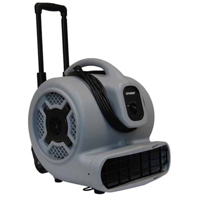 Xpower P-800H 3/4 HPMulti-Purpose Air Mover/Dryer with Wheels and Luggage Handle-PP