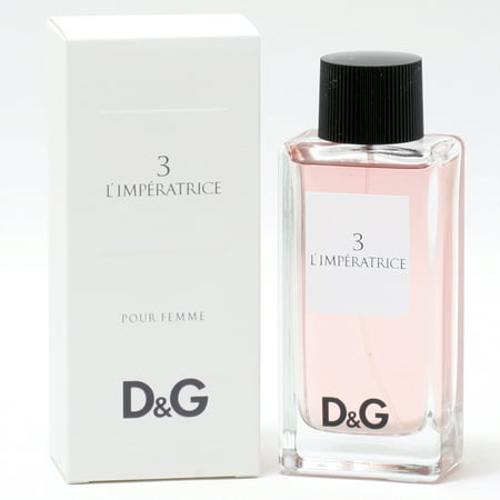 D&G 3 L'IMPERATRICE LADIES- EDT SPRAY 3.3 (D&g And Dolce And Gabbana)