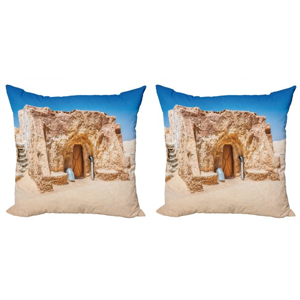 Galaxy Throw Pillow Cushion Cover Pack Of 2, Abandoned