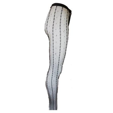 ce0e7833e942dd Killer Legs Seamless Diamond Chain Fishnet Pantyhose 828JY004 Black Yelete  - Walmart.com