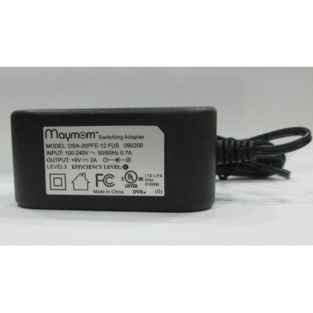 Maymom Power Supply AC Adapter For Medela 9V Pump-in-Style Breastpump