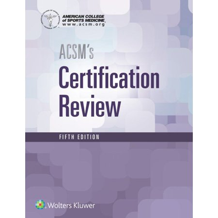 ACSM\'s Resources for the Personal Trainer, 5th ed. + ACSM\'s ...
