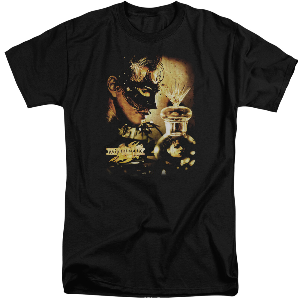 Mirrormask Trapped Mens Big and Tall Shirt
