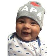 Baby's Newborn Boy Girl Kids Toddler Letter Hat Beanie Soft Winter Cute Cap