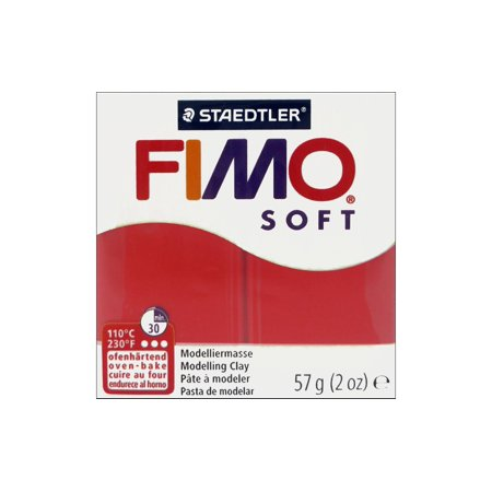 Fimo Soft Clay 57gm Indian Red (Indian Red Clay)