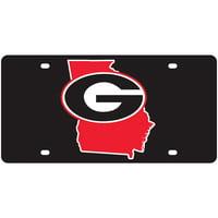 Georgia Bulldogs State Pride License Plate - No Size