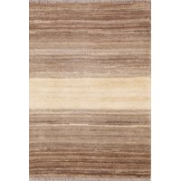 RugSelect Natural Dye Modern 2x4 Wool Gabbeh Zollanvari Rug Hand-Knotted