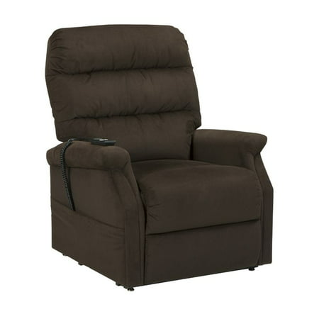 ashley brenyth power lift recliner in chocolate