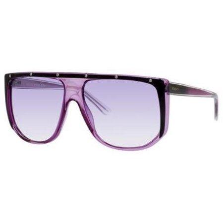 2f2699990fa Gucci - Gucci Sunglasses - 3705   Frame  Violet Lens  Violet Gradient -  Walmart.com
