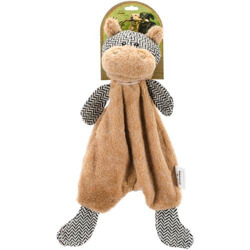 Nandog My BFF Suede Hippo Toy-Light Brown