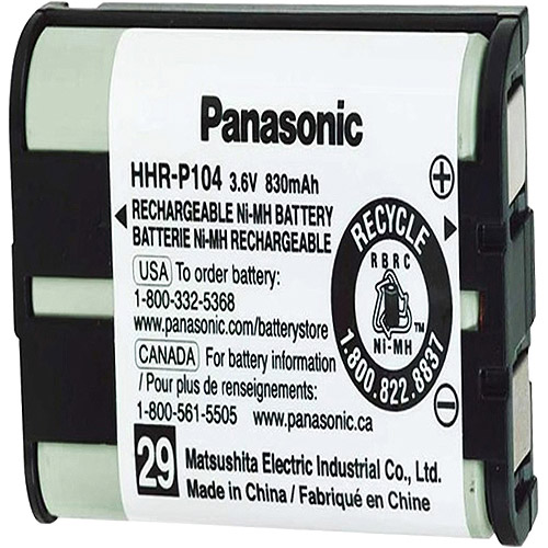 Panasonic HHR-P104A NiMH Rechargeable Battery