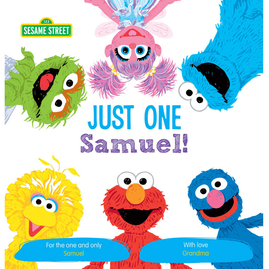 Sesame Street: Just One You! Personalized Paperback Book