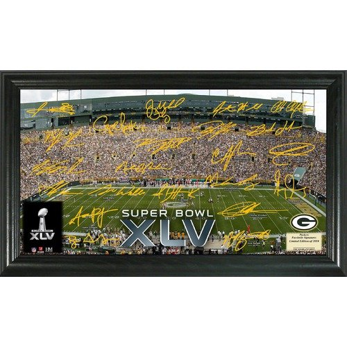 Highland Mint Green Bay Packers Super Bowl XLV Signature Gridiron
