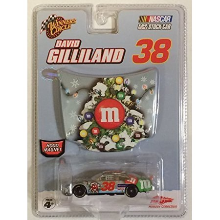 David Gilliland #38 MMs M&Ms Ford Fusion Sam Bass Collection 2007 Edition 1/64 Car & 1/24 Hood Winners - Winners Circle Matt