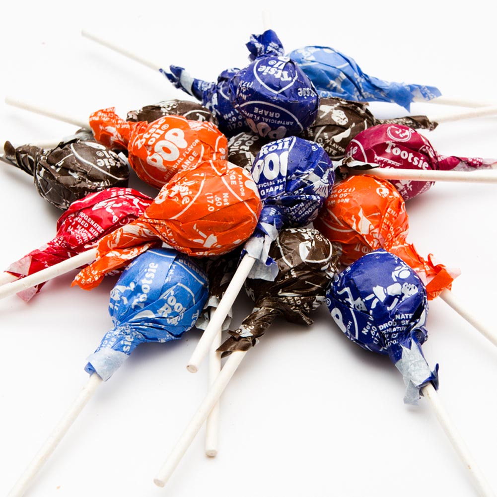 Tootsie Roll Assorted Flavors Pops, 10.125 OZ