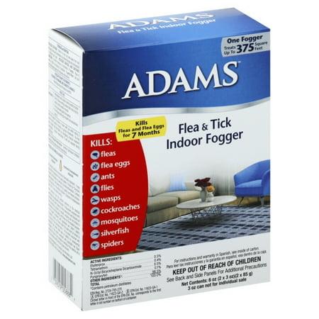 Adams Flea Amp Tick Indoor Fogger 2 Pack Walmart Com