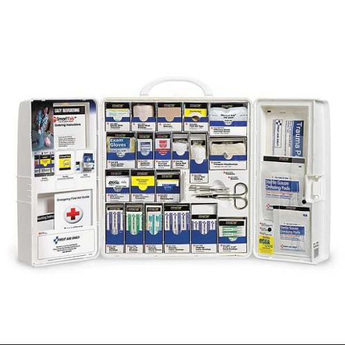 FIRST AID ONLY 1001-FAE-0103GR Compliance Package,Plastic,187 Pieces G1826301
