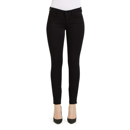 Women's Black Skinny Jeans | 27 Inseam Best For Petite Body Type | Shop Genetic Denim Fashion Official Online Store Best Pair Of Jeans