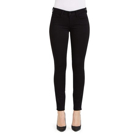 Women's Black Skinny Jeans | 27 Inseam Best For Petite Body Type | Shop Genetic Denim Fashion Official Online