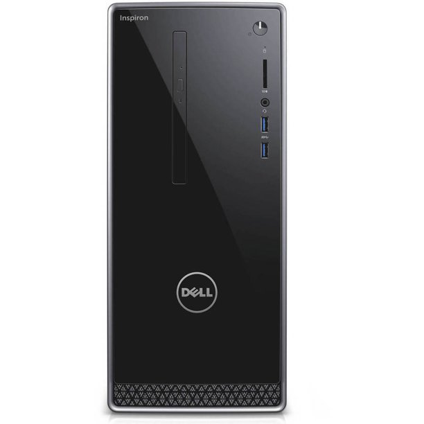 Dell Inspiron 3668 MT Desktop PC with Intel Core i5-7400 Processor, 12GB Memory, 1TB Hard Drive and Windows 10 Home (Monitor Not Included)