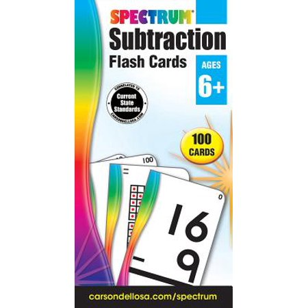 - Subtraction Flash Cards