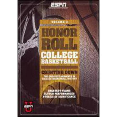 Espn U   Honor Roll  College Basketball  Vol  3
