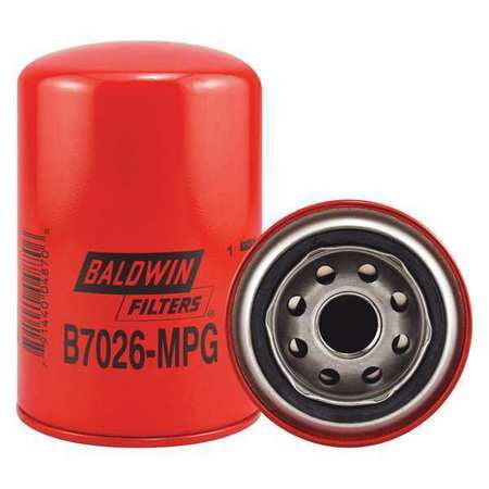 BALDWIN FILTERS B7026MPG Hydraulic Filter, 3-21/32 x 5-5/8 In