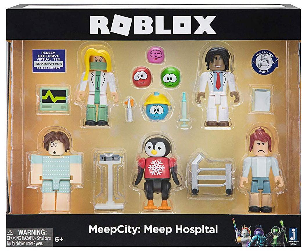 Roblox Meepcity Meep Hospital Figure 5 Pack Set Walmart Com
