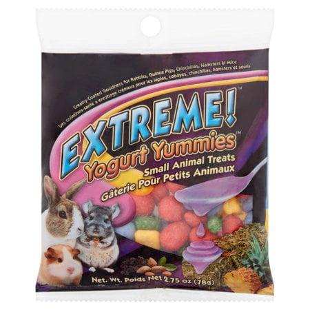 (2 Pack) Brown's Extreme! Yogurt Yummies Small Animal Treats, 2.75 - Hamster Treats