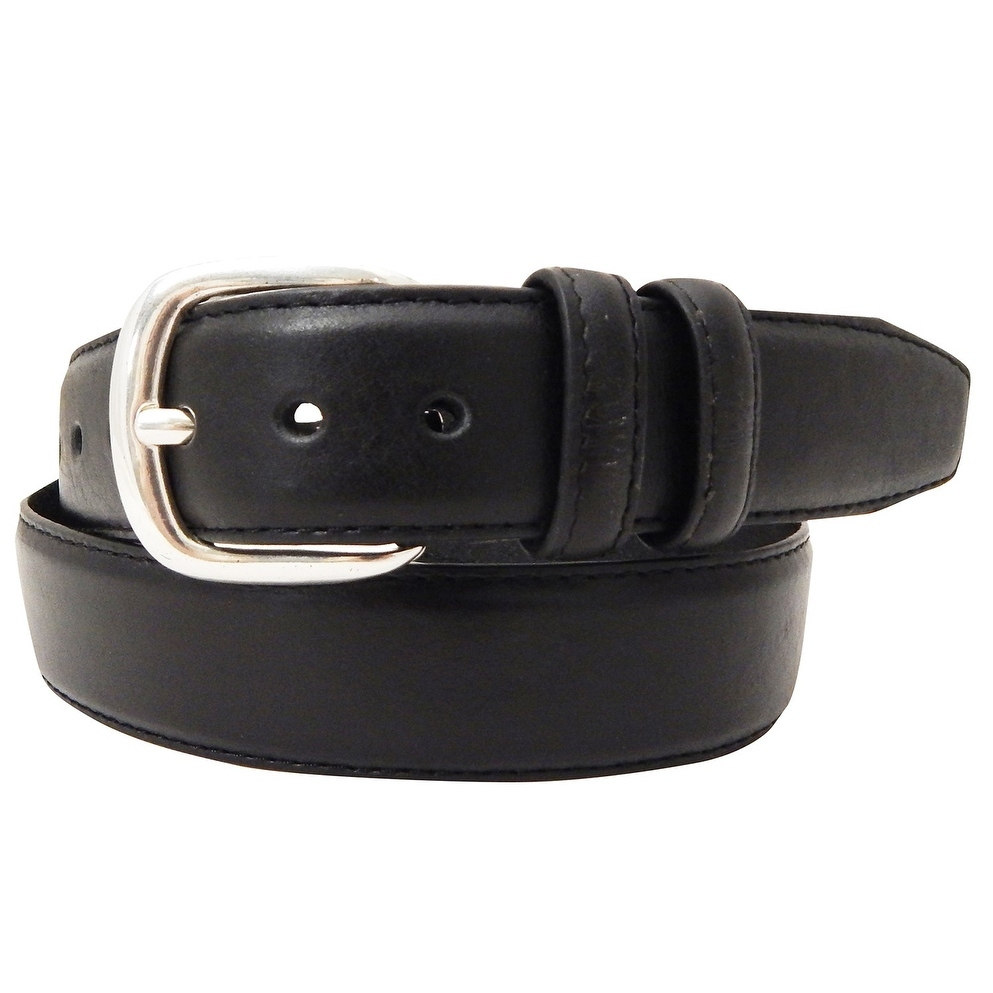 Danbury Work Wear Mens Padded Leather Double Loop Belt