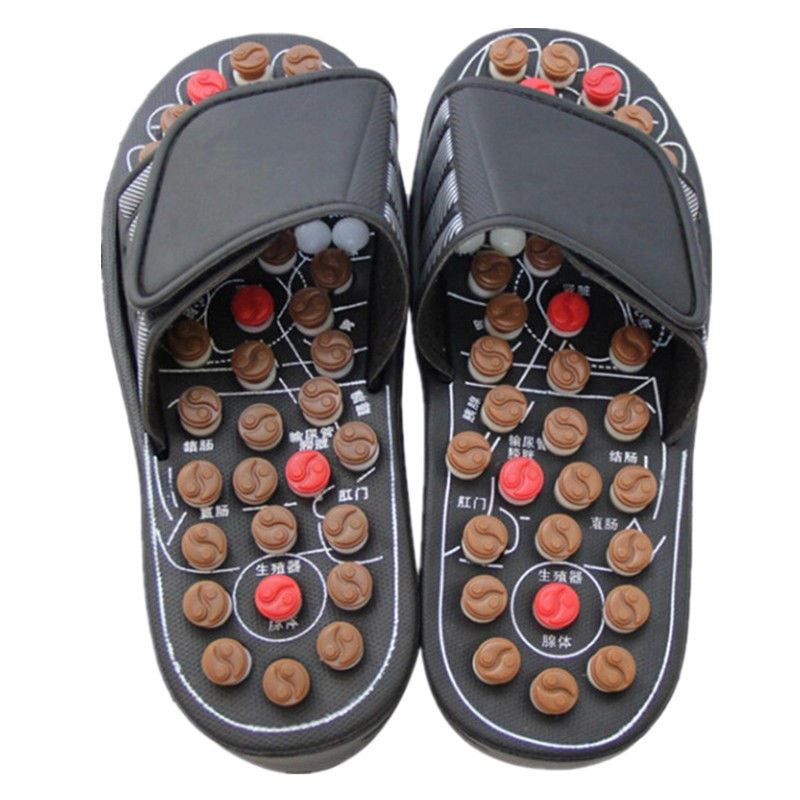 Unisex Health Care Massage Slipper Sandal Reflex Massage Slipper Acupuncture Foot Massager Shoes