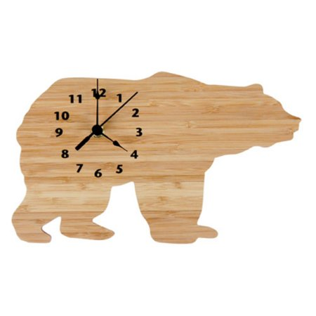 Trend Lab Northwoods Bear Wall Clock