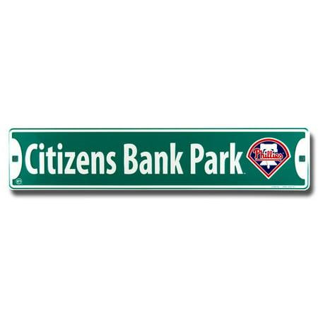 Citizens Bank Park Philadelphia Phillies Street Sign