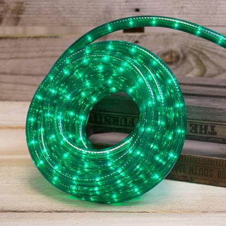 Outdoor String Lights Rope Lights Indoor or Outdoor Plug-in 20 feet Green
