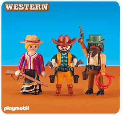 Playmobil 2 Cowboys and Cowgirl](Cowboy And Cowgirl)