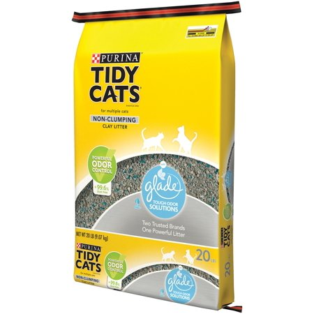 Tidy Cats Non Clumping Cat Litter With Glade  Lbs