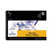 Canson Artist Series Pure White Drawing Pad, 18in x 24in