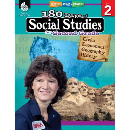 180 Days of Social Studies for Second Grade (Grade 2) : Practice, Assess, (Harcourt Social Studies People We Know Grade 2)