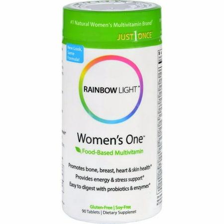 90 Tablets Rainbow Light - Rainbow Light Women's One Food-based Multivitamin - 90 Tablets