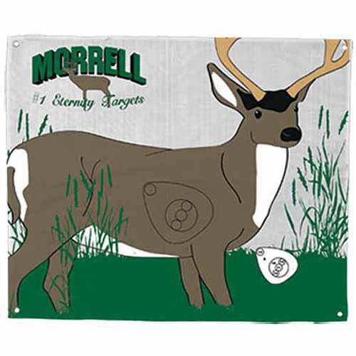 Morrell Targets Polypropylene Archery Target Face, Mule Deer by Morrell Mfg., Inc.