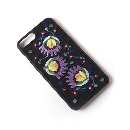 Tech Candy NEW Black Better Off Thread Embroidered Iphone 6 7 Plus Case (Tech Candy Phone Case)