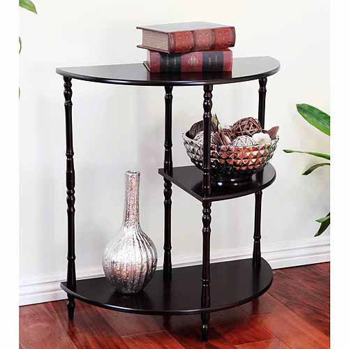 Home Craft Multi-Tiered End Table, Multiple Colors