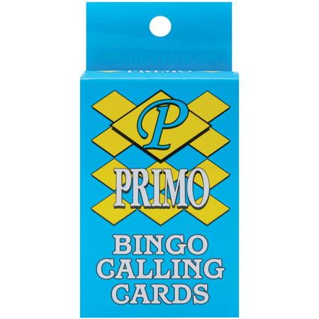 Bingo Calling Cards, 75-Pack (Easy Halloween Bingo Cards)