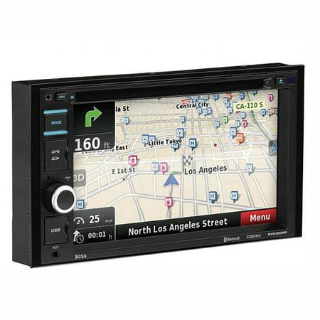 "Boss Audio 6.2"" Double DIN Touchscreen Bluetooth Vehicle Navigation Receiver"