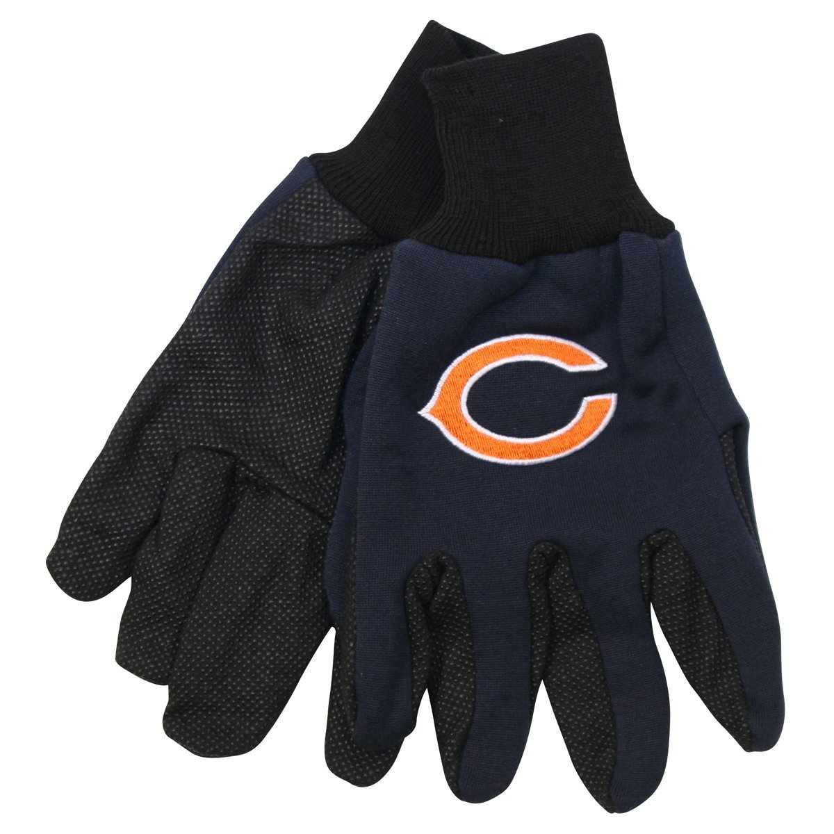 Chicago Bears NFL Utility Gloves (Pair) Football Team Logo Work Grip CHI by Wincraft
