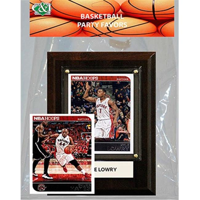 Candlcollectables 46LBRAPTORS NBA Toronto Raptors Party Favor With 4 x 6 Plaque