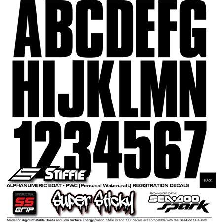 Custom Striker - STIFFIE Uniline Black SUPER STICKY 3